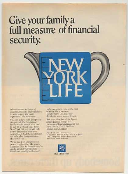 New York Life Insurance Measuring Cup (1969)