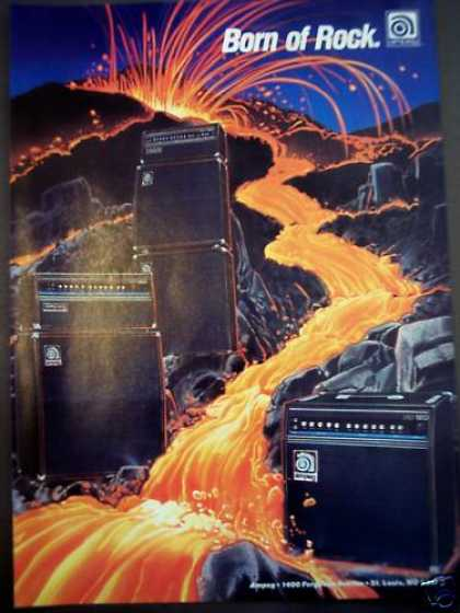 Ampeg Amplifiers Amps Music (1988)