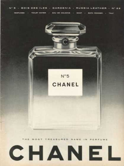 Chanel No 5 Perfume Bottle (1958)