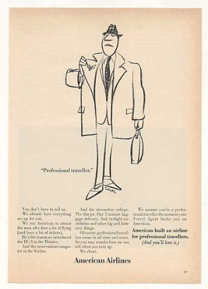 American Airlines Professional Traveller Man (1967)