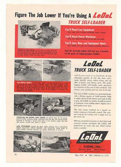 LoDaL Truck Self-Loader Photo (1955)