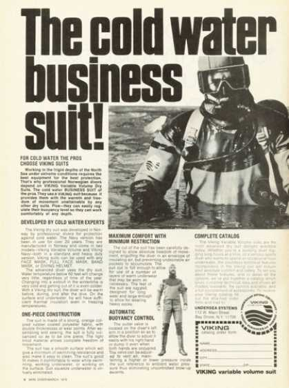 Viking Cold Water Business Diving Scuba Suit (1976)