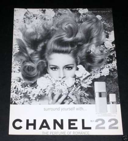 Old , Chanel 22, Perfume, Paris (1964)