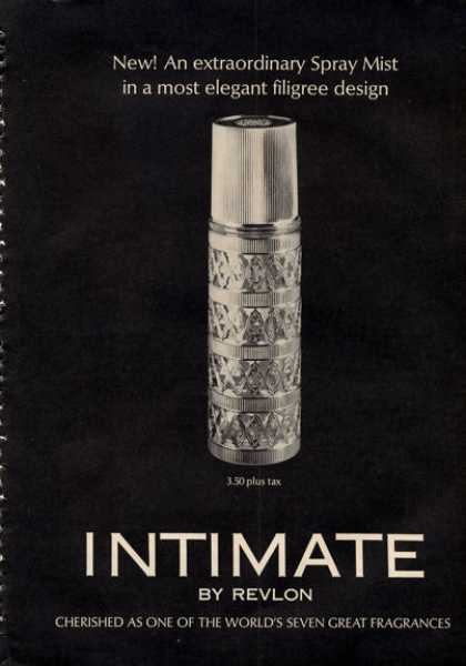 Revlon Intimate Perfume Bottle (1964)