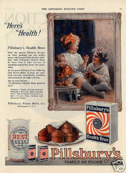 Pillsbury Flour Mills Color (1920)