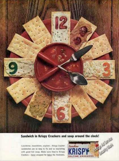 Krispy Crackers and Soup Around the Clock (1963)