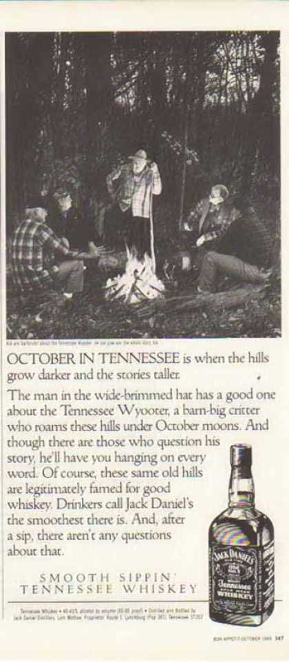 Jack Daniel's – Tennessee Wyooter (1989)