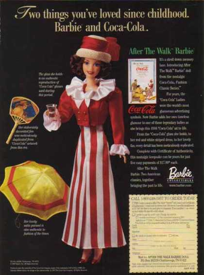 Barbie Doll &#8211; Barbie and Coca Cola &#8211; Sold (1997)