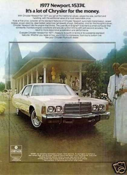 Chrysler Newport Car (1977)