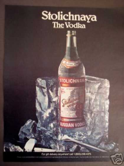 Stolichnaya the Russian Vodka (1986)