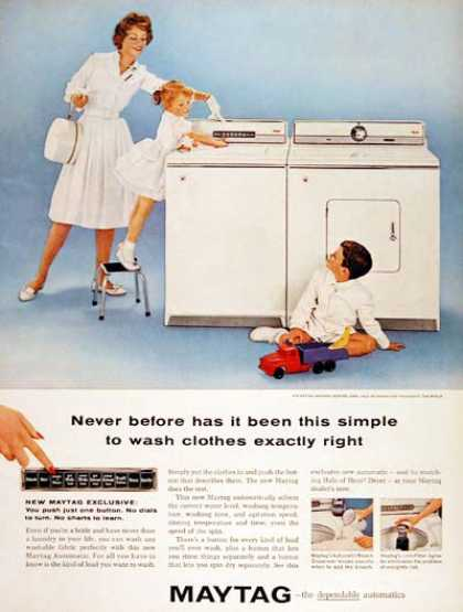 Maytag Washer & Dryer (1960)