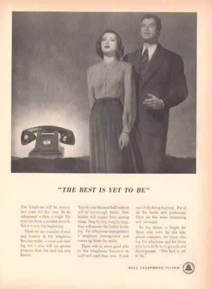 Bell Telephone System – The best Is Yet to Be (1948)