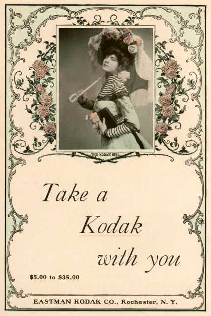 Kodak – Take a Kodak with you (1901)