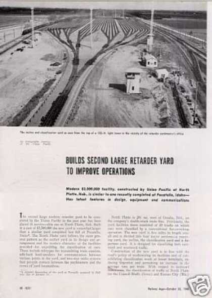 """Builds Large Yard..."" Article/up-nort (1948)"