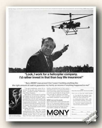 I'd Rather Invest In Helicopters Mony Insurance (1966)
