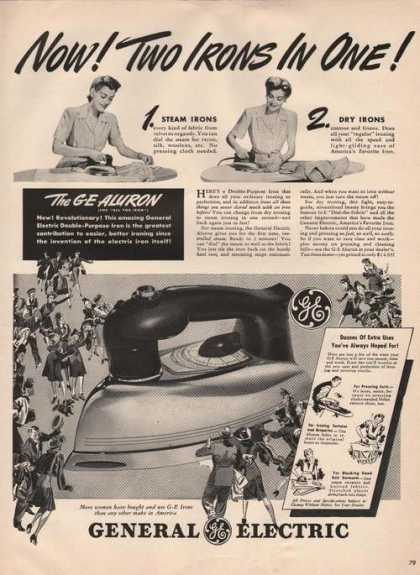 General Electric Two Irons In One (1941)