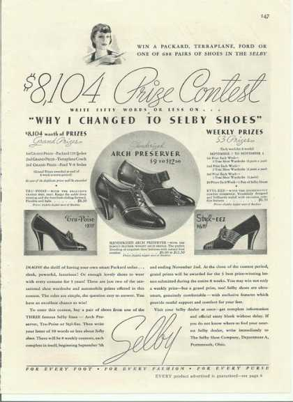 Selby Womens Shoes Prize Contest (1935)