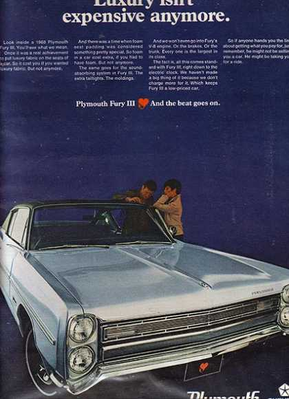 Chrysler's Plymouth (1968)