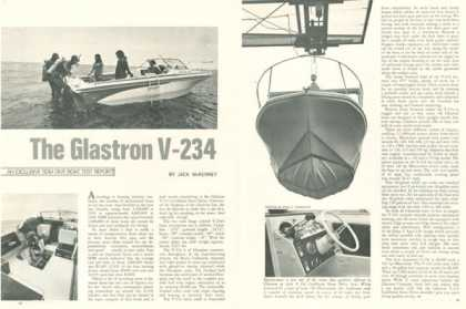 Glastron Boat V-234 Caribbean Print Test Article (1970)