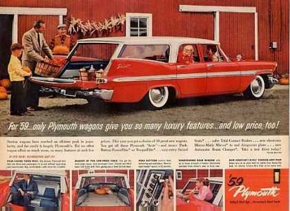 Plymouth Wagon (1959)