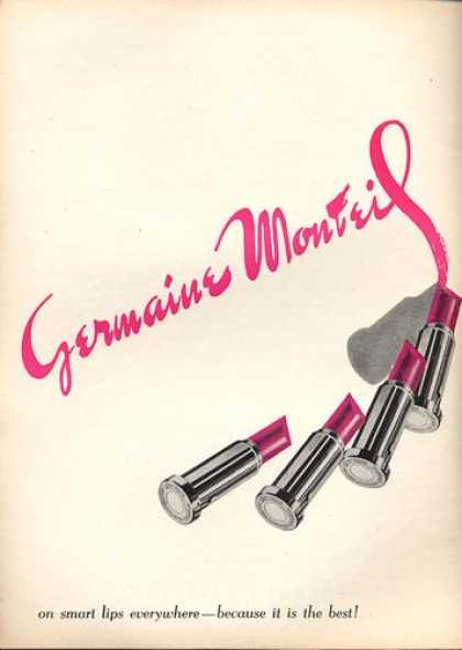 Germaine Monteil Lipstick Art (1953)