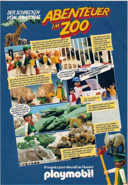 Playmobil zoo (1983)