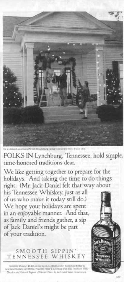 Jack Daniel's – Folks In Lynchburg (1993)