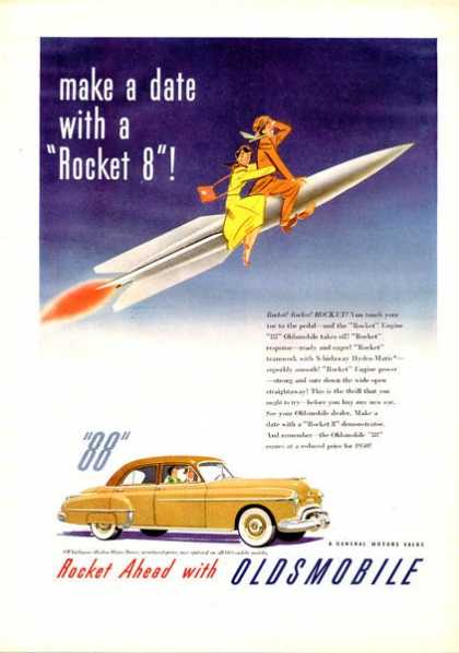 Oldsmobile Olds88 Rocket 8 (1950)