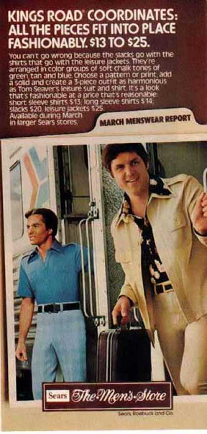Men's Store – Tom Seaver – Leisure Suit (1976)