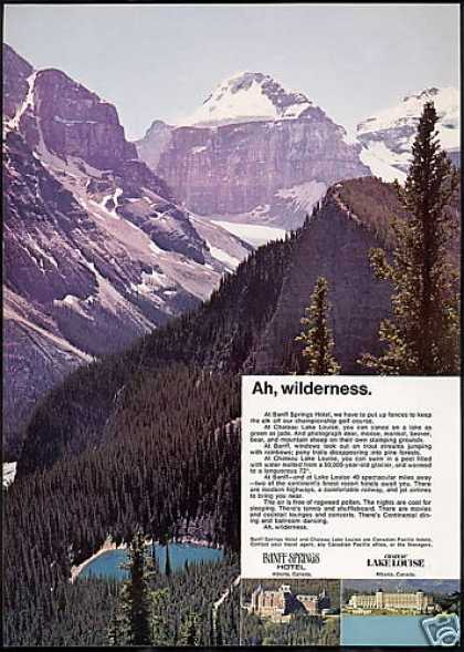 Banff Springs Hotel Chateau Lake Louise (1968)