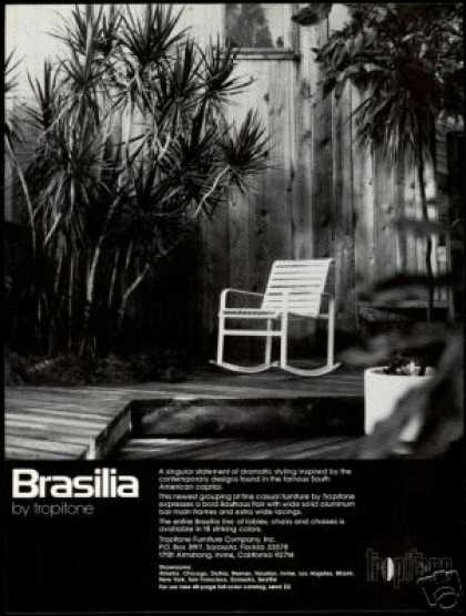 Brasilia Rocking Chair Tropitone Furniture (1978)