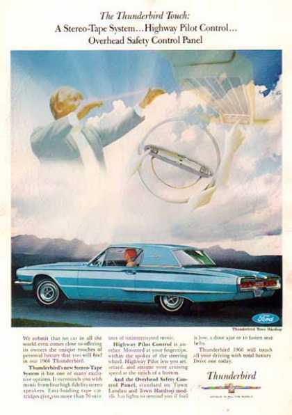 Ford Car – Thunderbird Town Hard Top – Blue (1966)