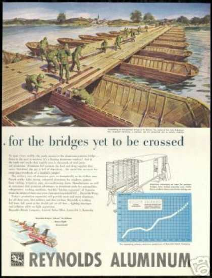 U.S Army Pontoon Bridge Reynolds Aluminum (1951)