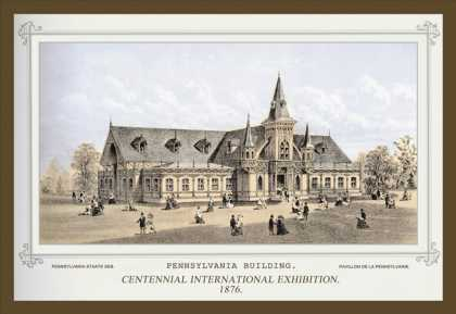 Pennsylvania Building, Centennial International Exhibition (1876)
