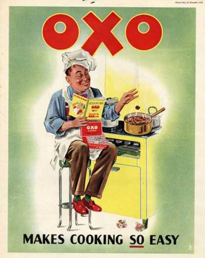OXO, Chefs Cooking, UK (1950)