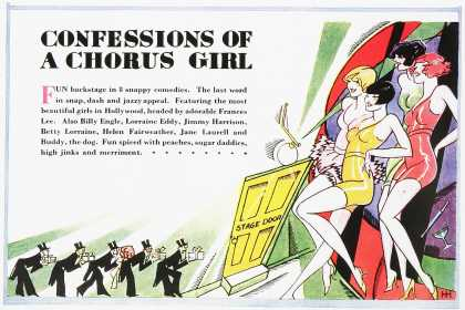 Confessions of a Chorus Girl