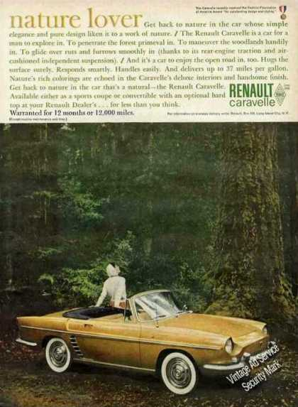 "Renault Caravelle In Forest ""Nature Lover"" (1961)"