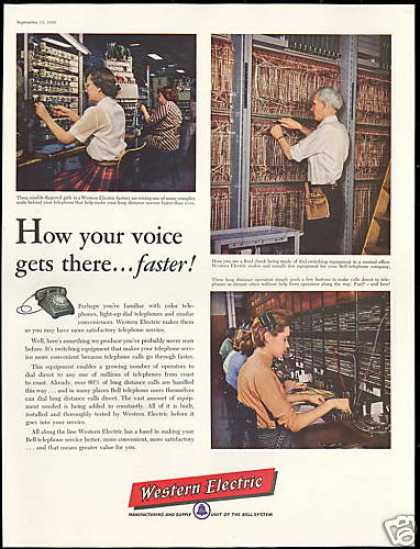 Western Electric Telephone Wiring Operator (1956)