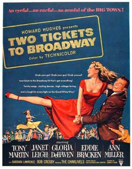 """Two Tickets to Broadway"" (1951)"