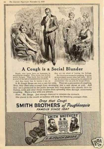 Smith Brothers Cough Drops (1919)