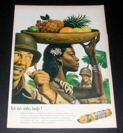 Life Savers, African American Woman (1944)