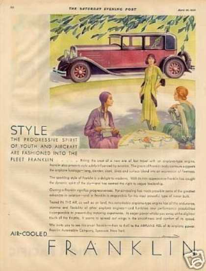Franklin Car Color (1930)