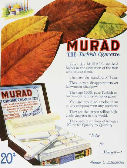 Murad, the Turkish Cigarette