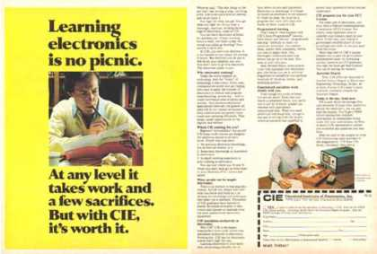 Cleveland Institute of Electronics – Learning is no picnic (1983)