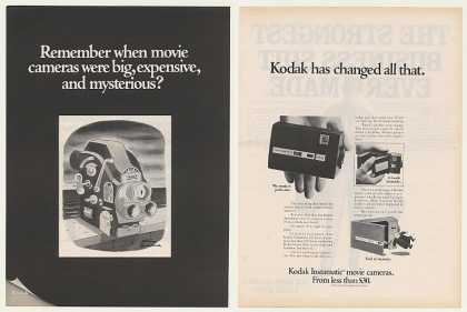 Kodak Instamatic Movie Camera Charles Addams 2P (1968)