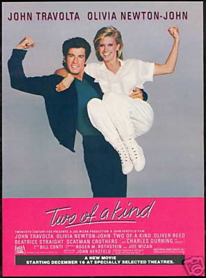 John Travolta Olivia Newton John Movie Promo (1983)
