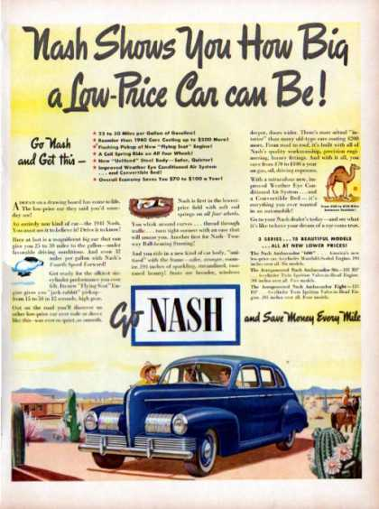 Nash Western Cowboy Horse Ranch Car Theme (1940)