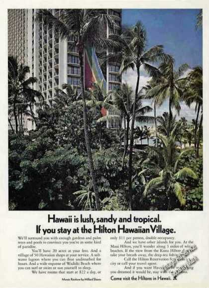 Hilton Hawaiian Village Photo Travel (1971)
