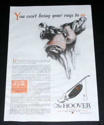 Hoover Sweeper, Lagatta Deco Art (1929)