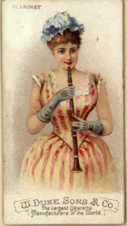 W. Duke Sons & Co.'s Duke's Cigarettes – Musical Instruments – Image 5